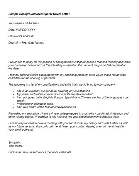 Cover letter for crime intelligence analyst - Broad-off.cf